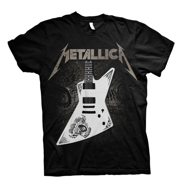 Metallica James Hetfield MX250 Guitar Metal Official Tee T-Shirt Mens Unisex