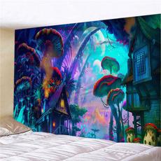 Wall Art, Home Decor, Mushroom, hangingtapestry