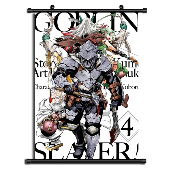 Goblin Slayer HD Canvas Print Wall Poster Scroll Room Decor
