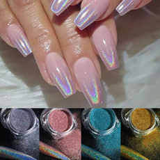 nail decoration, Holographic, Laser, Jewelry