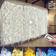curtaindecor, led, Romantic, partydecorationsfavor