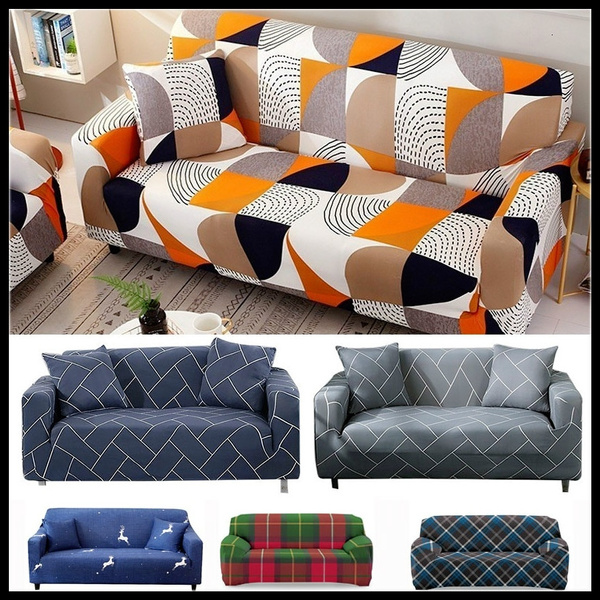 Sofa Slipcovers Elastic Cover