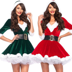 Swing dress, Cosplay, Christmas, Sexy costume