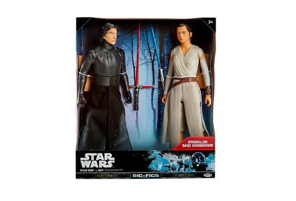 Star Wars Kylo Ren vs Rey Action Figure 18-2 pk