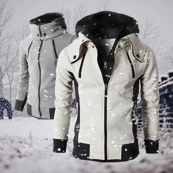 hoodiesformen, Plus Size, Coat, Winter