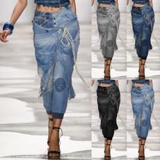 Women Pants, Fashion, pants, rippedjean