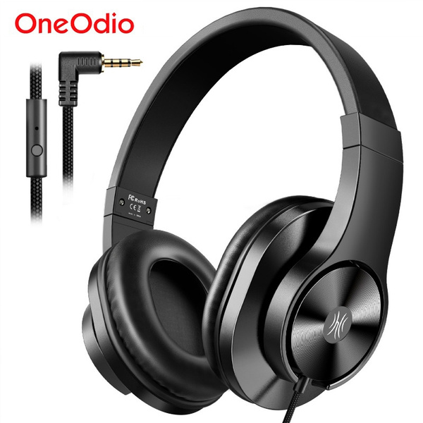 Oneodio T3 Wired Headphones Over Ear Headset With Microphone Stereo Bass Earphone Adjustable Headphone For Mobile Phone Wish