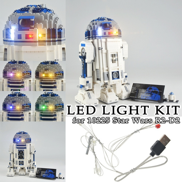 LIGHT BRICKS LED Light kit for LEGO 10225 star wars R2-D2 Robot 10225