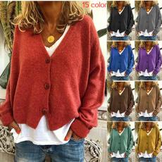 Women Sweater, knit, Sleeve, pullover sweater