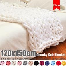 woolen, woolroving, Knitting, sofablanket