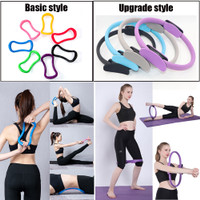 Professional Yoga Circle Exercise Sport Magic Ring Muscles Circle Gym Workout Home Training Pilates Ring Wish