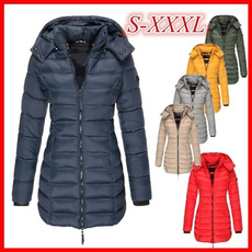 Casual Jackets, Plus Size, quilted, Coat