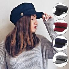 Fashion, Cotton, Ladies Fashion, militarycap