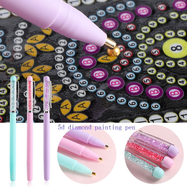5D Diamond Painting Pen Embroidery DIY Diamond Painting Cross Stitch Accessories