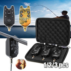 fishingbitealarm, Stainless Steel, led, Bell