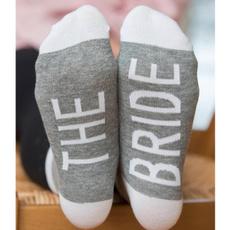 Cotton Socks, bridesmaidsock, partysock, Socks