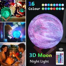 3dprintedlamp, led, moonlamp, Gifts