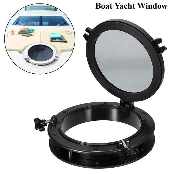 """Boat Yacht Round Porthole 8"""" Opening Window Port Hole Portlight Hatch Marine"""