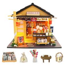 miniaturedollhousefurniture, Toy, puzzletoysforkid, Christmas