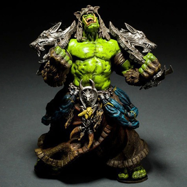 World Of Warcraft Action Character Orc Shaman Priest Earth S