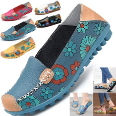 casual shoes, Flats, Plus Size, Womens Shoes