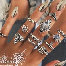 Moda, Women Ring, Silver Ring, fashion ring
