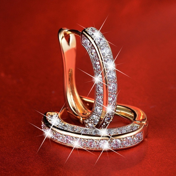 Sterling, Fashion, Gemstone Earrings, Engagement