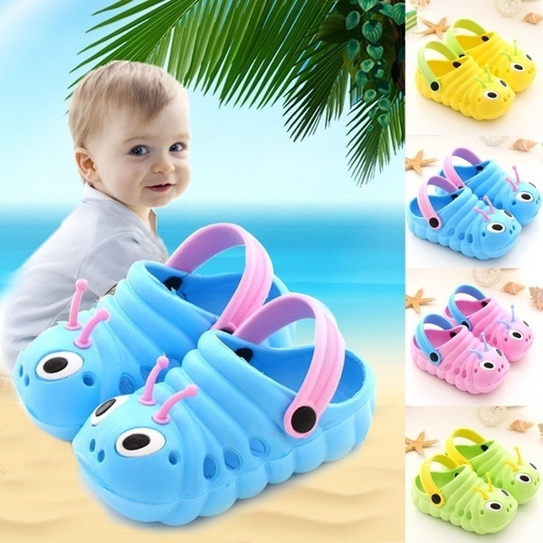 Unisex Beach Slippers Baby Children Kids Boys Kid Girl Boy Sandals Croc Caterpil
