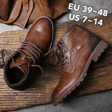 ankle boots, Marrón, Tenis, Plus Size