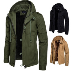 Casual Jackets, cardigan, Winter, hoodedjacket