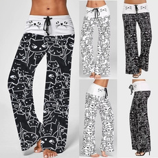 Women Pants, cute, cartoonpant, trousers
