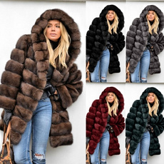 fur coat, Plus Size, fur, Outerwear