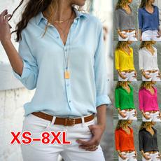 blouse, Plus Size, Office, Women Blouse