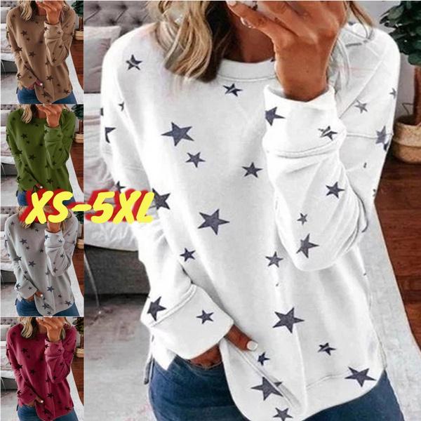 Plus Size, Women's Casual Tops, Long Sleeve, Autumn Shirts