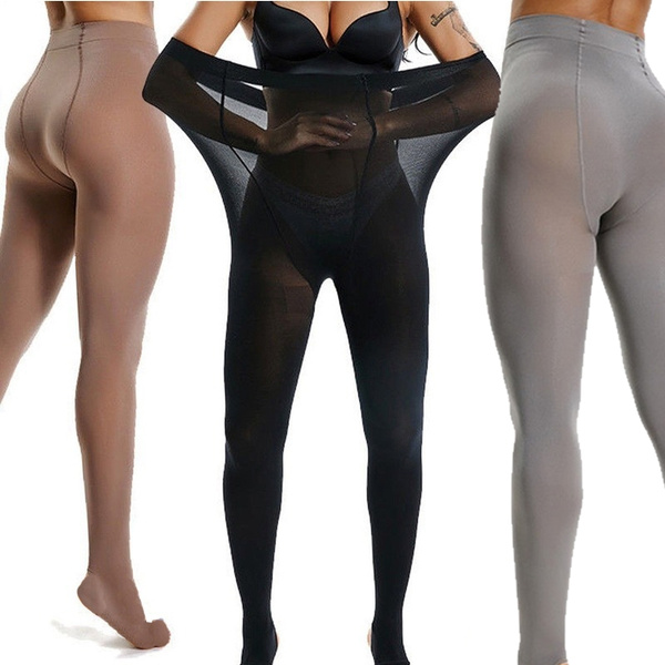 footedpantyhose, Plus Size, footedlegging, Elastic