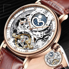 mechanicalwristwatche, relojesmecánico, Men, Waterproof Watch