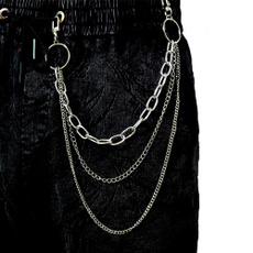 Hip-hop Style, pantschain, pants, Metal