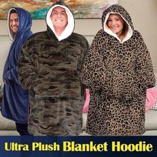 hugglehoodieblanket, Fleece, hooded, hooededcoat