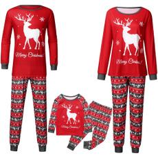 elk, christmasparentchild, familyclothespajama, Holiday