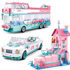 pink, legofriend, Toy, Princess