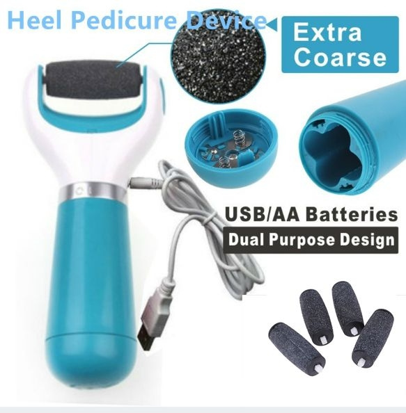 Foot Care Tool Skin Care Feet Dead Skin Removal Electric Foot Exfoliator Heel Cuticles Remover Feet Care Pedicure Wish