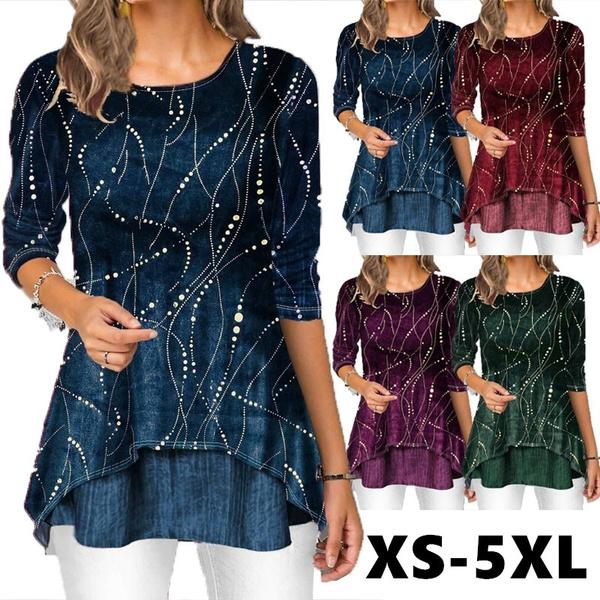 blouse, Plus Size, Long Sleeve, casual shirt