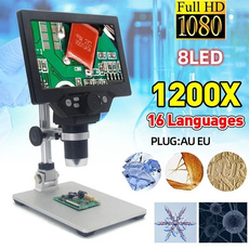 portablemicroscope, studentmicroscope, Monitors, microscopewithled