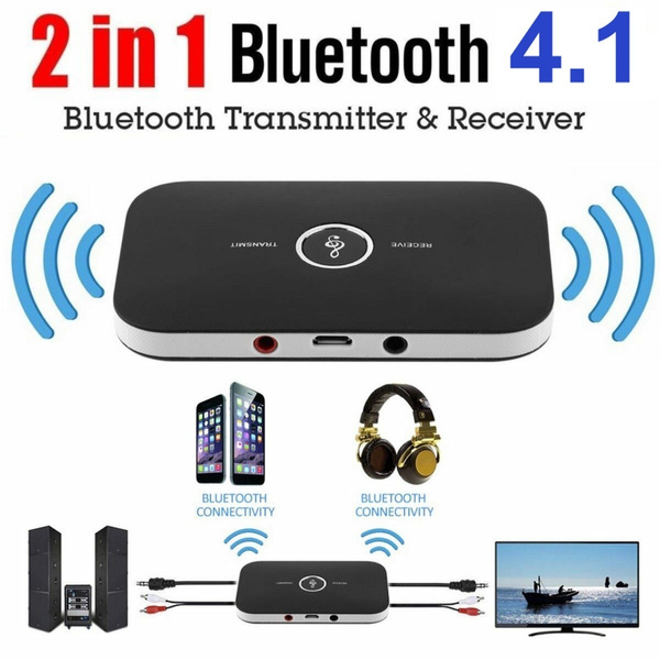 2 in 1 Bluetooth Transmitter Receiver Wireless Bluetooth Audio Adapter 3.5MM Aux