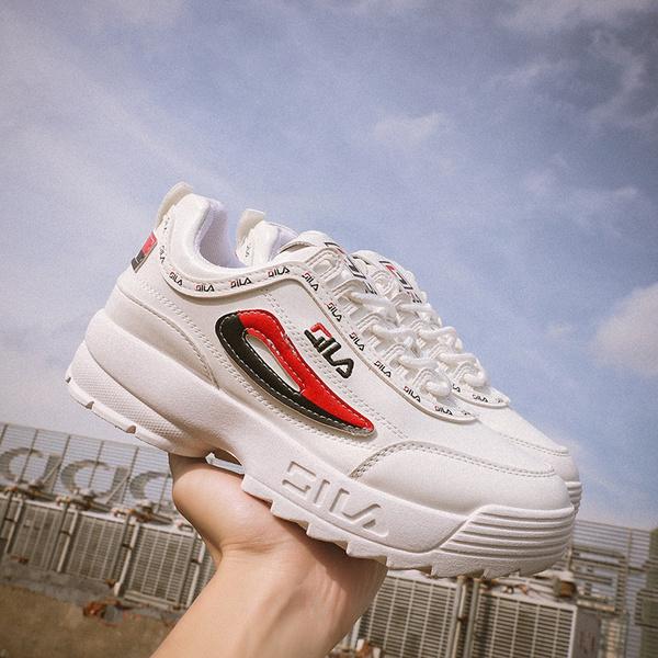 ladies white platform shoes