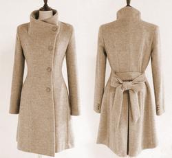 woolen, hooded, fashiontrenchcoat, coatsampjacket