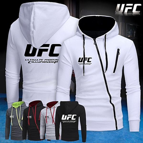 Casual Hoodie, zippers, ufc, mmagym