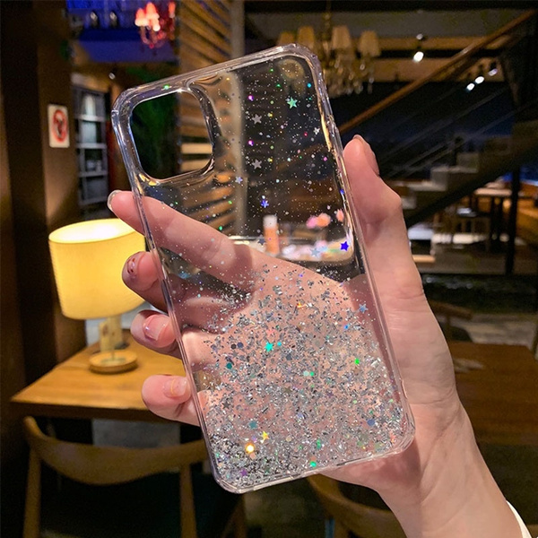Shining Sequin Back Cover iphone Case