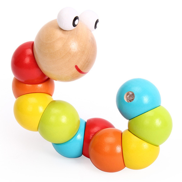 preschooltoy, Toy, twistcaterpillartoy, Colorful
