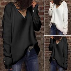 blouse, knitwear, Plus Size, sweaters for women